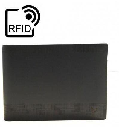 Roncato Fenix portafoglio orizzontale con porta monete e fodera RFID