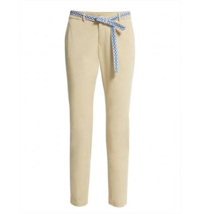 Max Mara Weekend Audrey pantalone donna chino in gabardina di cotone