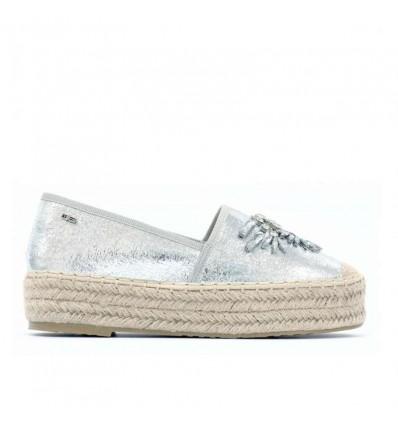 O6 Milano Venere scarpa espadrilles da donna glitter
