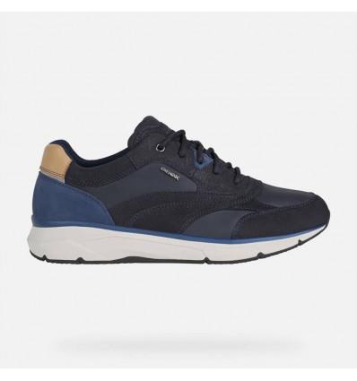 Geox Radente scarpa sneaker da uomo in pelle